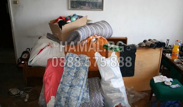 Извозване на дрехи