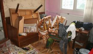 Почистване на апартамент от боклуци