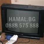 Изхвърляне на стари телевизори