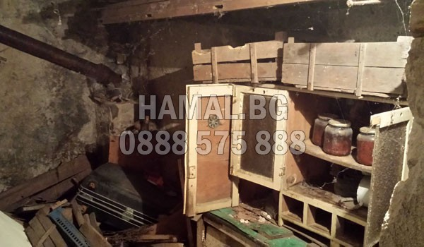 Хамали за чистене на тавани и мазета в София