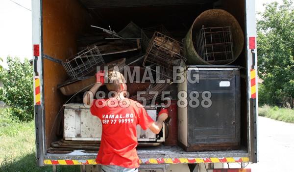 Изнасяне на боклук и мебели