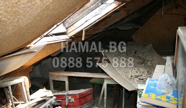 Чистене на тавани и мазета