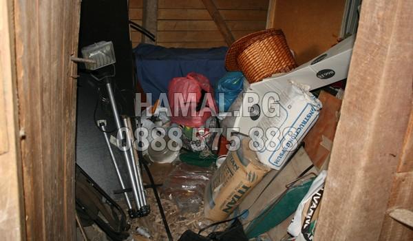 Почистване на мазета в жилищна кооперация