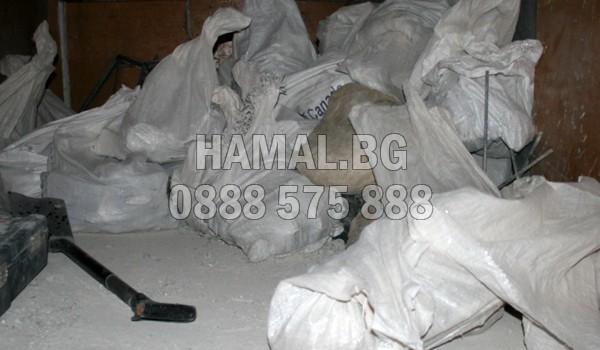 Извозване на строителни отпадъци до сметище