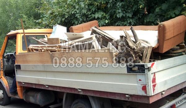 Извозване на боклук от тавани и мазета в София