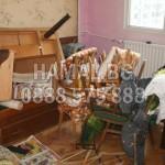 Изхвърляне на битови отпадъци и стари мебели
