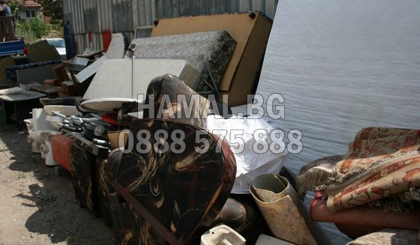 Събиране на стари мебели в София