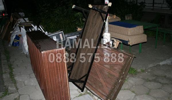 Почистване на апартаменти от стари мебели в София