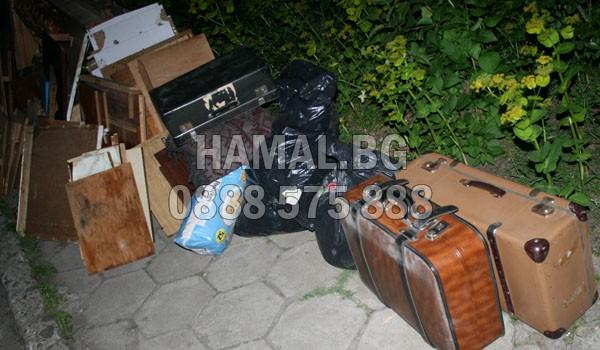 Изхвърляне на боклуци от мазе София