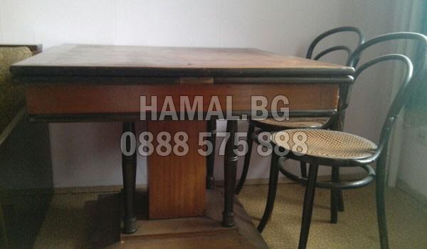 Разчистване на стари мебели в София