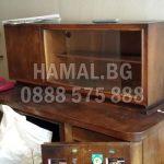 Разчистване на стари мебели от апартамент